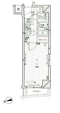 マンション(建物一部)-港区高輪2丁目 間取り