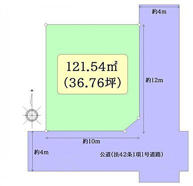 土地-仙台市泉区南光台2丁目 区画図