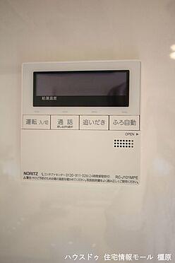 戸建賃貸-橿原市菖蒲町3丁目 キッチンからボタンひとつでお湯はりや追い焚きができます。(同仕様)