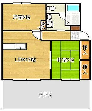 アパート-北九州市八幡西区町上津役東3丁目 現況を優先します。