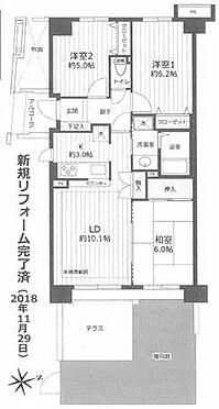 マンション(建物一部)-横浜市瀬谷区二ツ橋町 間取り