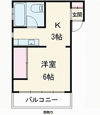 区分マンション-豊島区駒込3丁目 間取り