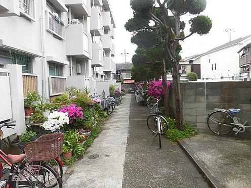 マンション(建物一部)-大阪市城東区諏訪3丁目 植栽が植わる落ち着いた雰囲気が魅力