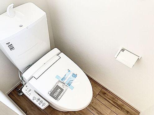 新築一戸建て-福岡市南区桧原2丁目 洗浄便座機能付きのお手洗いです