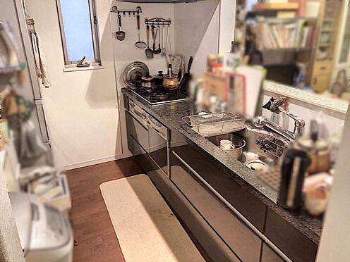 戸建賃貸-名古屋市千種区内山1丁目 素敵なキッチンです♪食洗機がついていますので、洗い物の負担が減ります。