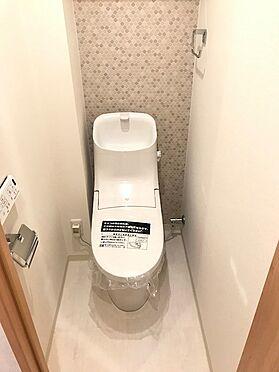 中古マンション-坂戸市関間3丁目 トイレ