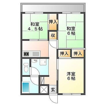 マンション(建物全部)-太田市新道町 間取り
