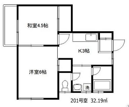 アパート-富士見市諏訪2丁目 間取り