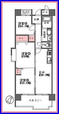 マンション(建物一部)-大阪市港区弁天5丁目 間取り
