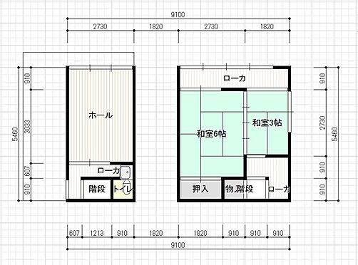 店舗事務所(建物全部)-中津川市栄町 間取り