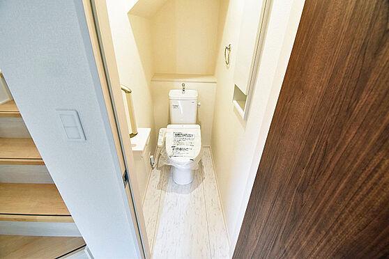 新築一戸建て-三鷹市井口1丁目 トイレ