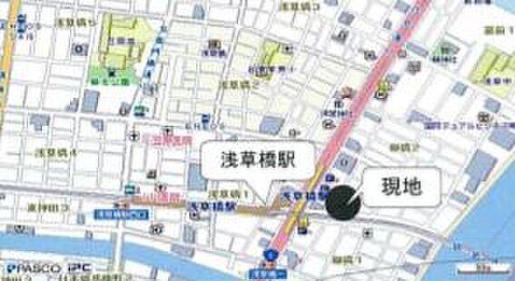 ビル(建物全部)-台東区柳橋1丁目 地図