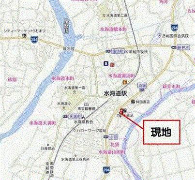 ホテル-常総市水海道山田町 地図