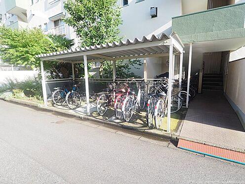 中古マンション-千葉市美浜区幸町2丁目 ゆったりスペースの自転車置場!