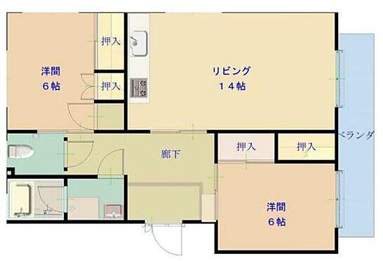 マンション(建物全部)-静岡市葵区川合3丁目 間取り