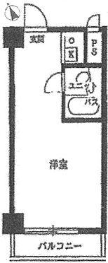 マンション(建物一部)-横浜市西区浜松町 間取り