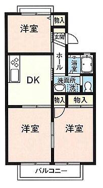 アパート-茂原市東郷 間取り