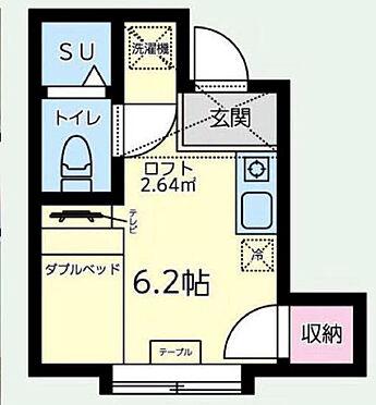 アパート-墨田区八広2丁目 間取り