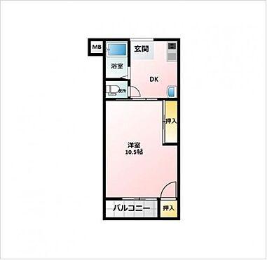 マンション(建物一部)-大阪市港区池島3丁目 間取り