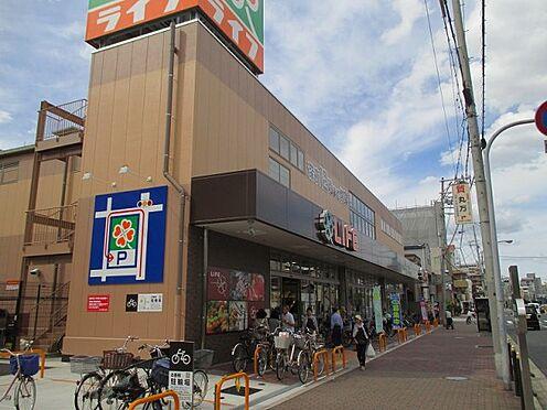 中古マンション-大阪市東成区東小橋1丁目 スーパーライフ玉造店まで約570mです