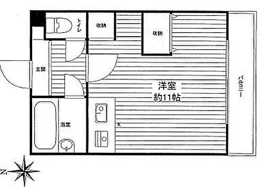 区分マンション-神戸市垂水区西舞子5丁目 間取り
