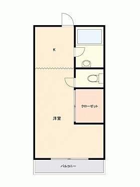 中古マンション-松戸市小山 間取り