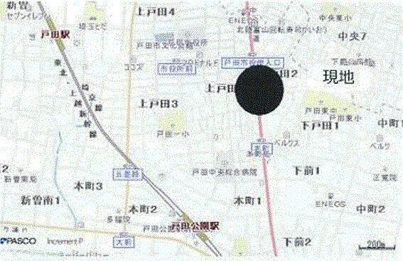 ビル(建物全部)-戸田市上戸田2丁目 地図