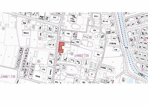 マンション(建物全部)-高槻市上牧町2丁目 地図