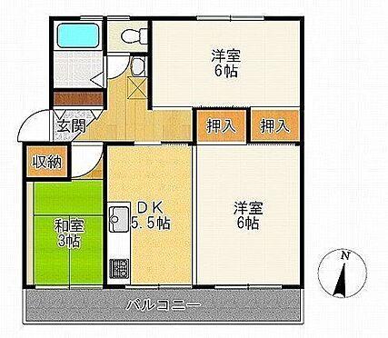 マンション(建物一部)-神戸市垂水区本多聞5丁目 各部屋に収納スペースがあり、お部屋がスッキリ片付きます
