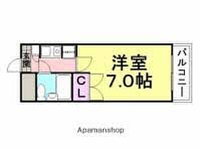 マンション(建物一部)-尼崎市若王寺3丁目 間取り