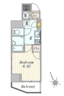 マンション(建物一部)-品川区平塚3丁目 1K 21.17平米