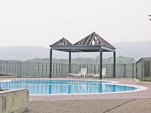 中古マンション-賀茂郡東伊豆町奈良本 夏季営業の屋外プールです。