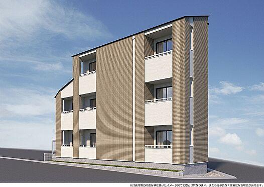 アパート-足立区神明南1丁目 完成予想パース