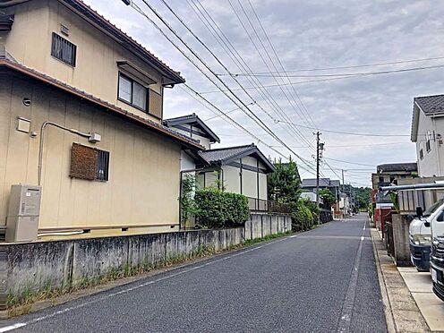 戸建賃貸-豊田市市木町5丁目 こちらは前面道路の様子です。