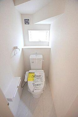 新築一戸建て-仙台市青葉区中山8丁目 トイレ