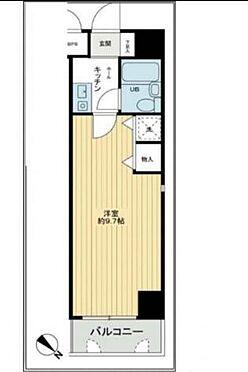 区分マンション-神戸市兵庫区福原町 間取り