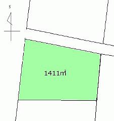 土地-妙高市関山大洞原 区画図