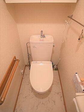 中古マンション-横浜市港南区野庭町 温水式トイレ掲載中の家具、調度品等は販売価格に含まれません