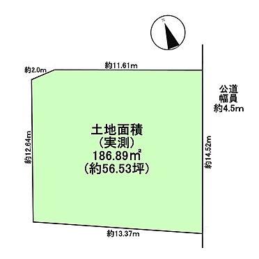 土地-武蔵野市吉祥寺南町4丁目 区画図