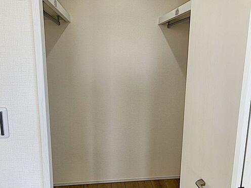 新築一戸建て-知多郡東浦町大字石浜字須賀 収納に大変便利なウォークインクローゼットです!