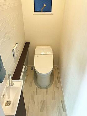 新築一戸建て-大阪市生野区舎利寺1丁目 トイレ