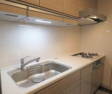 中古マンション-八王子市上柚木3丁目 タカラスタンダードホーローシステムキッチンに新規交換済み