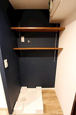 中古マンション-中央区月島3丁目 洗濯機置き場