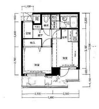 マンション(建物一部)-大阪市天王寺区餌差町 間取り