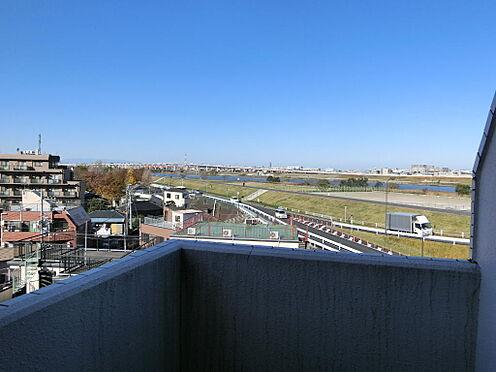 マンション(建物一部)-足立区千住大川町 非常階段からの景色