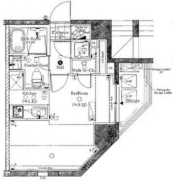 マンション(建物一部)-新宿区西新宿2丁目 間取り