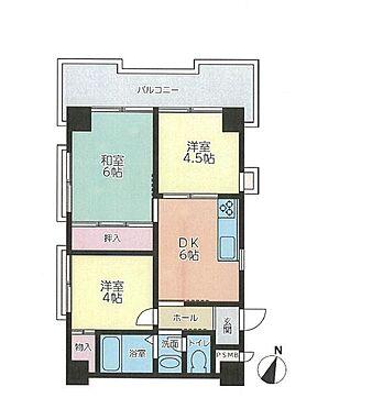 区分マンション-神戸市灘区高徳町5丁目 全室開口だから通風良好