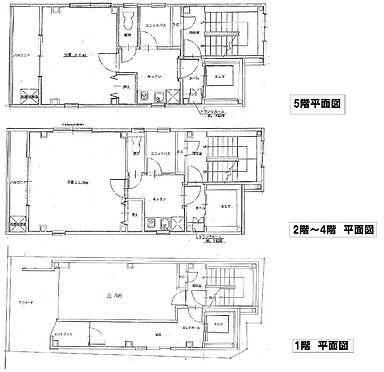 店舗(建物全部)-京都市東山区古西町 間取り