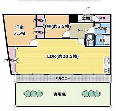 マンション(建物一部)-神戸市中央区北野町4丁目 間取り
