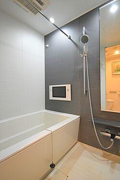 中古マンション-中央区八丁堀2丁目 浴室/1317サイズのユニットバス、12インチ液晶テレビ付き